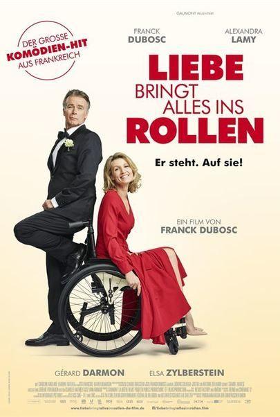 """Filmplakat für """"Liebe bringt alles ins Rollen"""""""