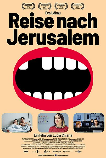 "Movie poster for ""Reise nach Jerusalem"""