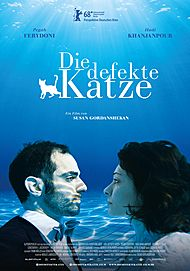 "Movie poster for ""Die defekte Katze"""