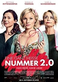 "Movie poster for ""EINE GANZ HEISSE NUMMER 2.0"""