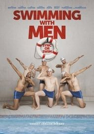 """Movie poster for """"Swimming with Men"""""""