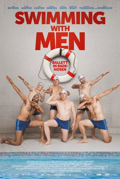 "Filmplakat für ""Swimming with Men"""