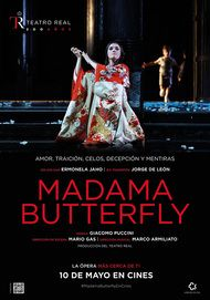 "Movie poster for ""MADAMA BUTTERFLY: DEL TEATRO REAL"""