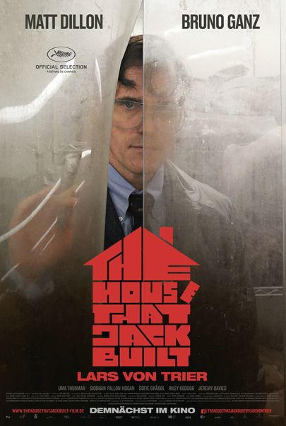 "Filmplakat für ""The House That Jack Built"""