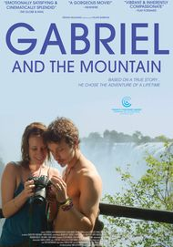 "Movie poster for ""GABRIEL AND THE MOUNTAIN"""
