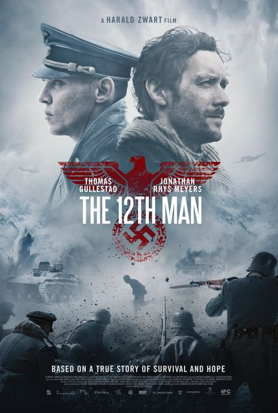 """Movie poster for """"THE 12TH MAN"""""""