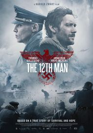 "Movie poster for ""THE 12TH MAN"""