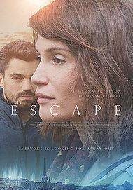 "Movie poster for ""THE ESCAPE"""