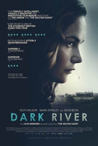 "Movie poster for ""DARK RIVER"""