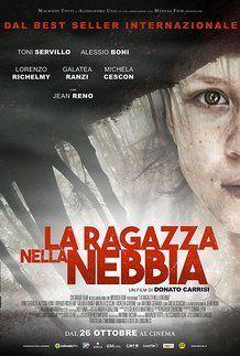 """Movie poster for """"LA RAGAZZA NELLA NEBBIA"""""""