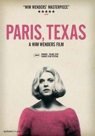 "Movie poster for ""PARIS, TEXAS"""