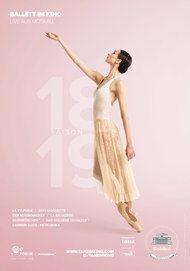 """Filmplakat für """"Bolschoi Ballett Saison 2018/19"""""""