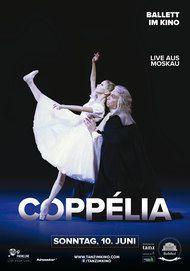 """Filmplakat für """"Bolschoi: Coppélia - Live aus dem Bolschoi in Moskau"""""""