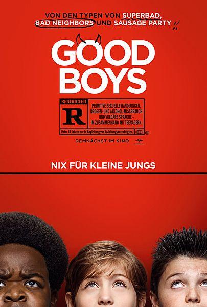 """Filmplakat für """"GOOD BOYS"""""""