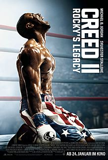 "Movie poster for ""CREED II"""