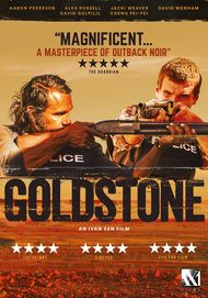 "Movie poster for ""GOLDSTONE"""