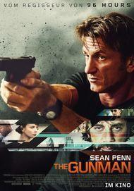 """Filmplakat für """"The Gunman"""""""