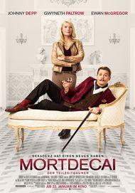 """Filmplakat für """"Mortdecai - Der Teilzeitgauner"""""""