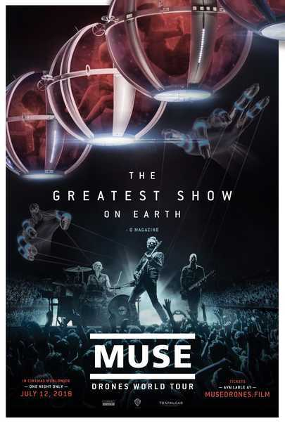 """Filmplakat für """"MUSE: DRONES WORLD TOUR"""""""