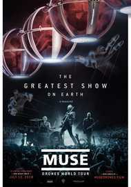 "Movie poster for ""MUSE: DRONES WORLD TOUR"""