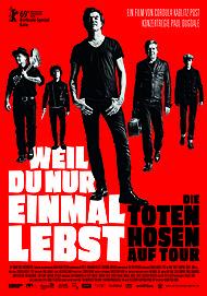 """Filmplakat für """"Die Toten Hosen - Weil du nur einmal lebst"""""""