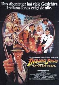 """Filmplakat für """"Indiana Jones und der Tempel des Todes"""""""