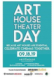 "Movie poster for ""ART HOUSE THEATER DAY - PRESHOW"""