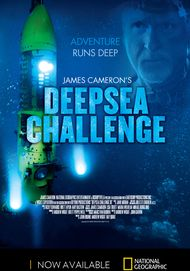 """Movie poster for """"DEEPSEA CHALLENGE 3D"""""""
