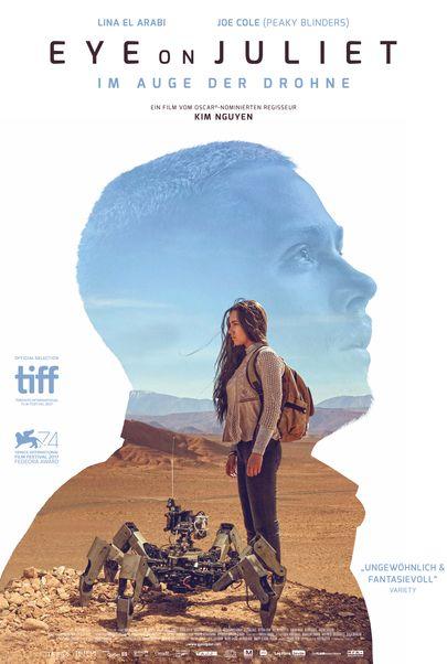 """Filmplakat für """"Eye on Juliet - Im Auge der Drohne"""""""