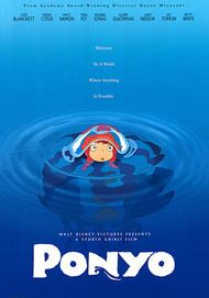 "Movie poster for ""PONYO"""