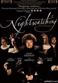"Movie poster for ""NIGHTWATCHING"""