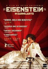 "Movie poster for ""EISENSTEIN IN GUANAJUATO"""