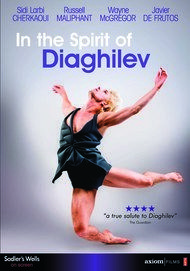 "Movie poster for ""IN THE SPIRIT OF DIAGHILEV"""