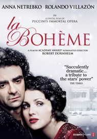 "Movie poster for ""LA BOHÈME"""