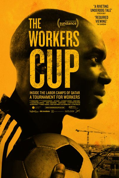 """Movie poster for """"THE WORKERS CUP"""""""