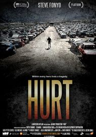 "Movie poster for ""HURT"""