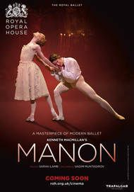 "Movie poster for ""MANON - ROYAL OPERA HOUSE (2018)"""