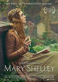 "Movie poster for ""MARY SHELLEY"""