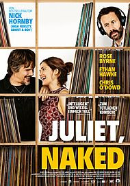 "Movie poster for ""JULIET, NAKED"""