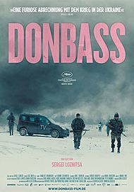 "Movie poster for ""DONBASS"""