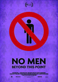 "Movie poster for ""NO MEN BEYOND THIS POINT"""