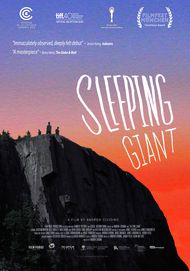 "Movie poster for ""SLEEPING GIANT"""