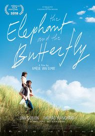 "Movie poster for ""THE ELEPHANT AND THE BUTTERFLY"""