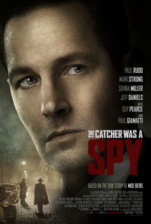 "Movie poster for ""THE CATCHER WAS A SPY"""