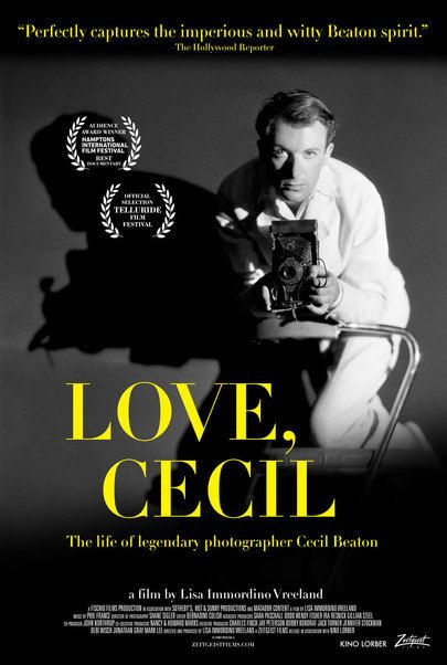 "Movie poster for ""LOVE, CECIL"""