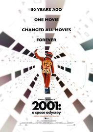 "Movie poster for ""2001: A Space Odyssey"""