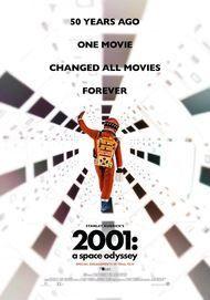 """Filmplakat für """"2001: A Space Odyssey: Re-Release"""""""