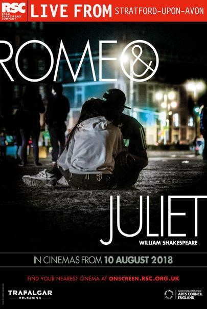 """Movie poster for """"ROMEO & JULIET - ROYAL SHAKESPEARE COMPANY"""""""