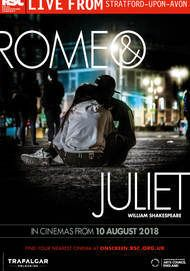"Movie poster for ""ROMEO & JULIET - ROYAL SHAKESPEARE COMPANY"""