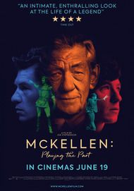 "Movie poster for ""MCKELLEN: PLAYING THE PART"""